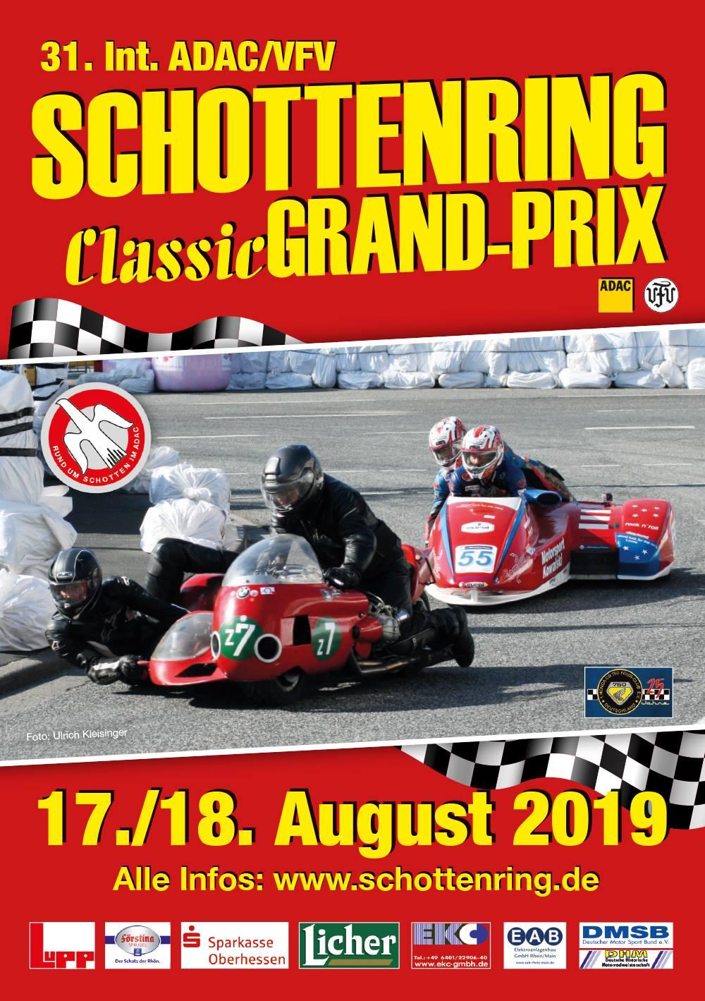 31. Int. ADAC/VFV Schottenring Classic GRAND-PRIX