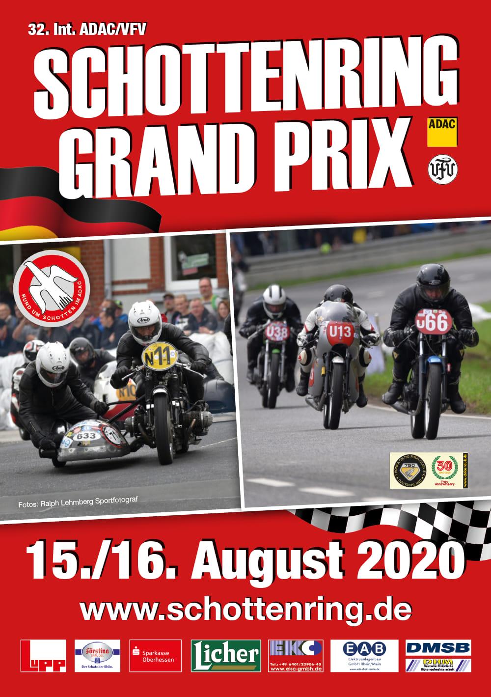 32. Int. ADAC/VFV Schottenring Classic GRAND-PRIX